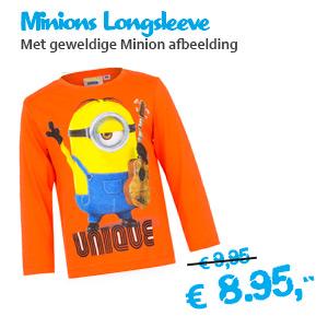Origineel Minions Longsleeve t-shirt