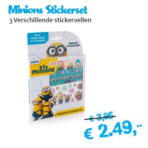Minions stickervellen