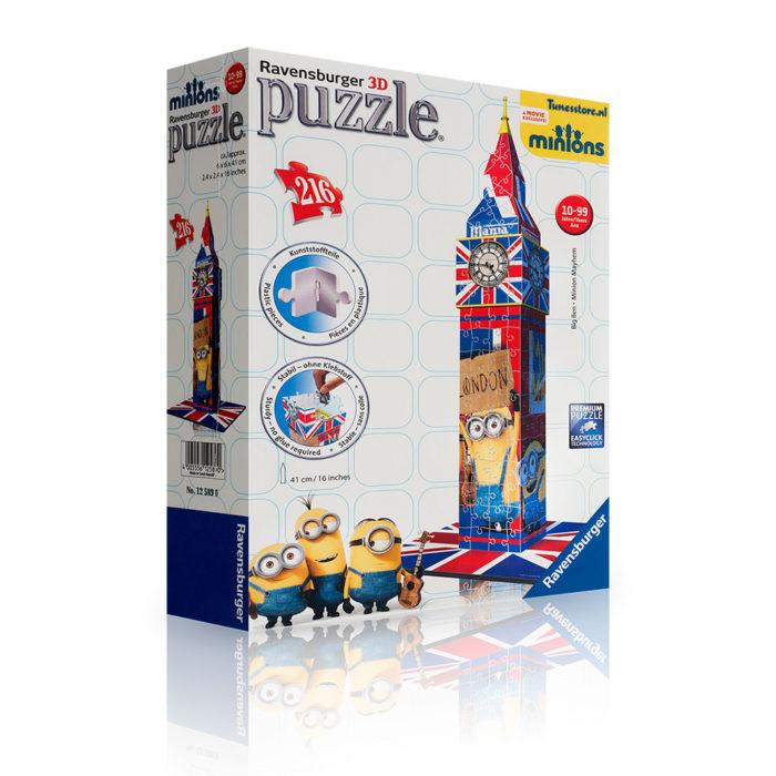Minions 3d puzzle