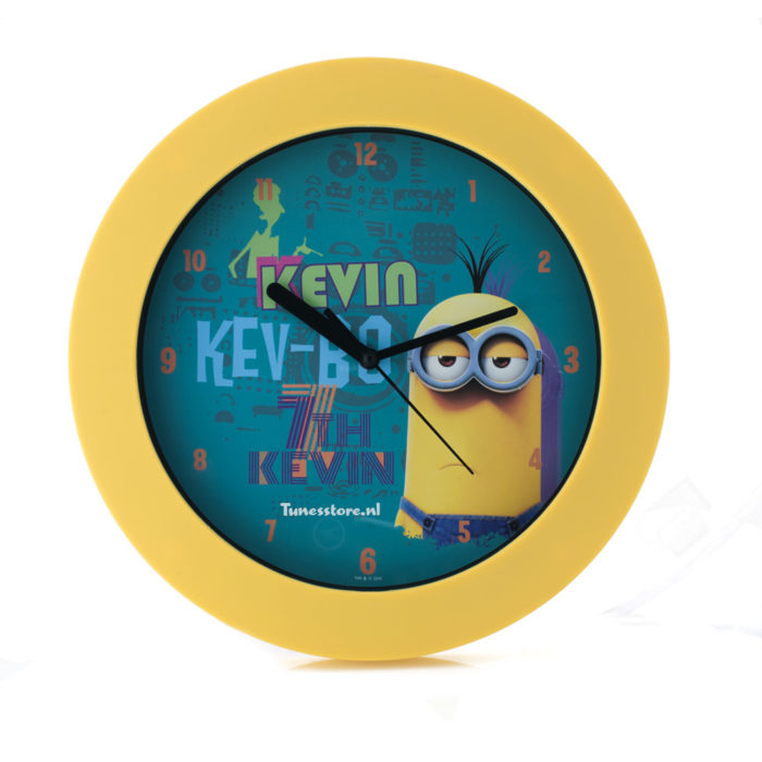 Originele Minion klok Kevin