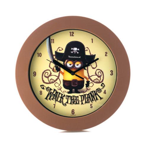 Minions Klok thema piraten