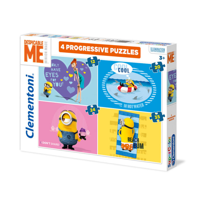 Minion puzzel
