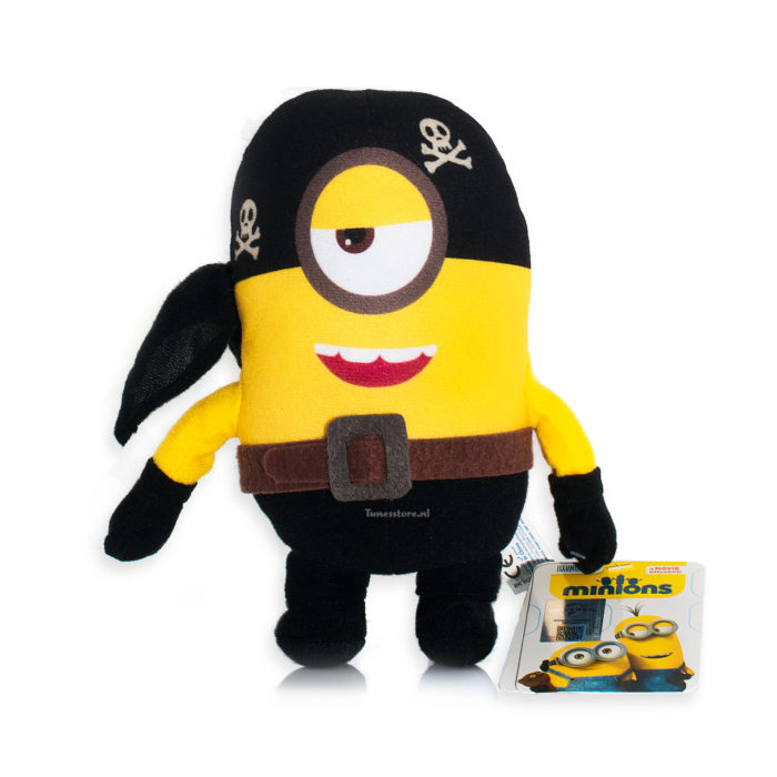 Minions Piraten knuffel
