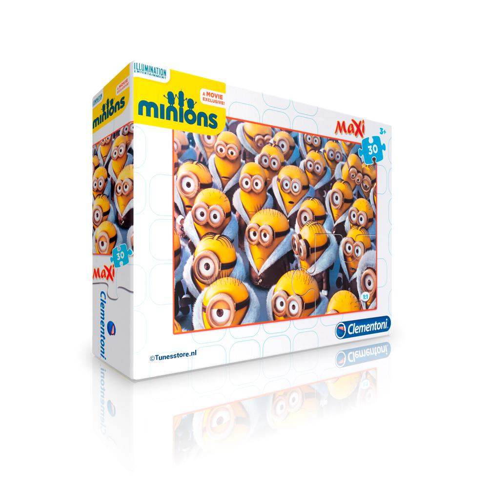 Minions maxi puzzel met 30 stukjes