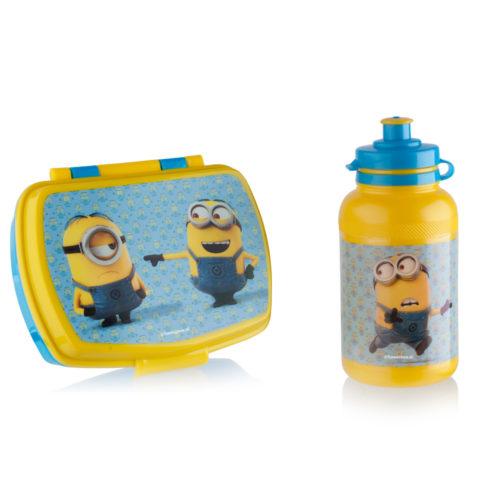 Minions lunchbox en drinkflesje