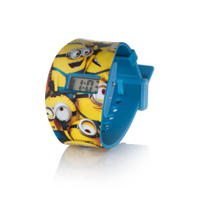 Minions LCD horloge