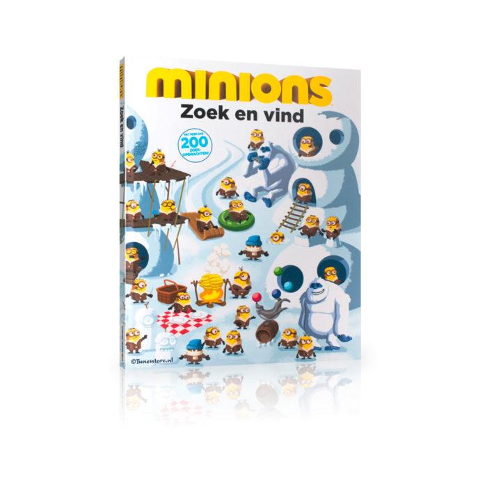 Minions boek zoek en vind met meer dan 200 zoekopdrachten