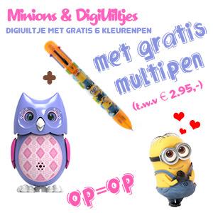 Minions en DigiUiltjes