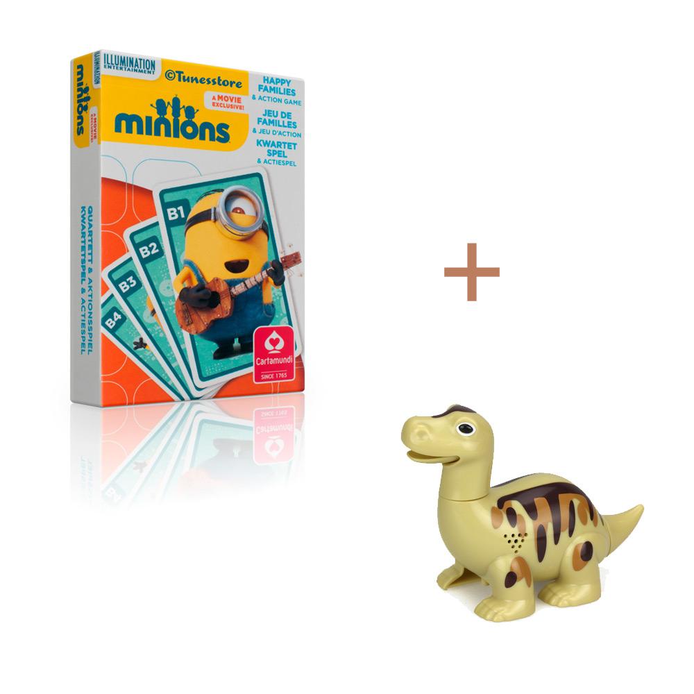 Aanbieding Minions Kwartetspel met DigiDino