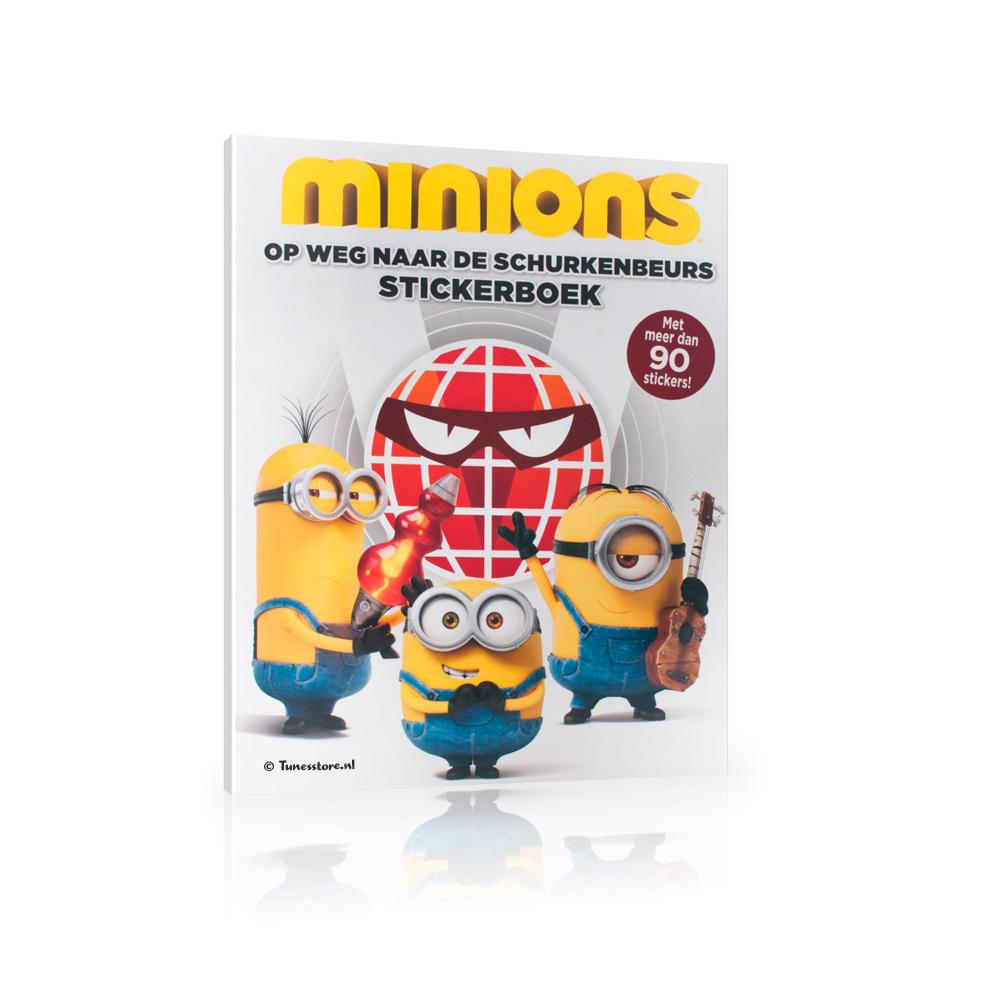 Minions stickerboek met meer dan 90 stickers