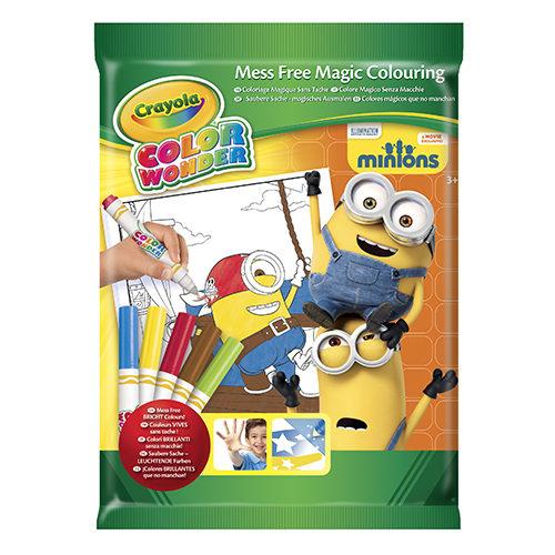 Minions Wonder Kleurboek