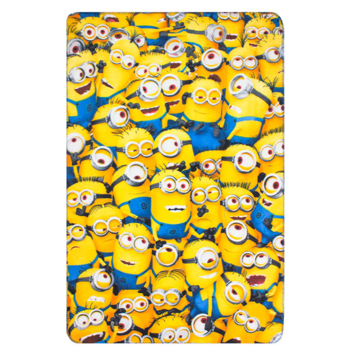 Minions Fleece deken, fleeceplaid