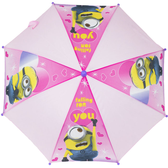 Minions meisjes paraplu