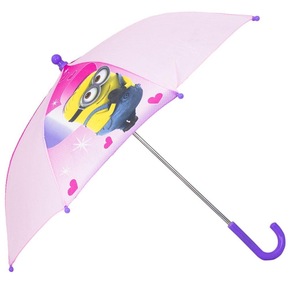 Minions roze meisjes paraplu