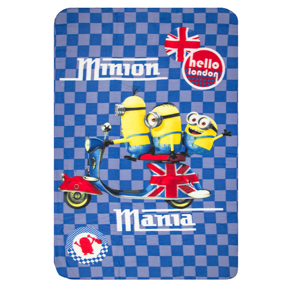 Minions fleece deken Hello London Mania