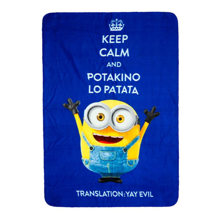 minions-fleece-keep-calm