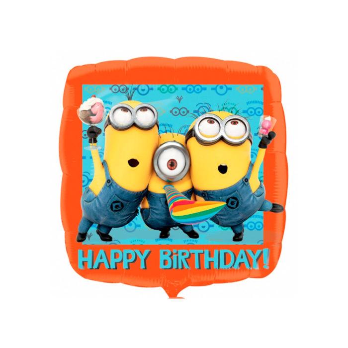Minions ballon geschikt voor een feestje of verjaardag