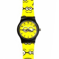 Minions analoog horloge
