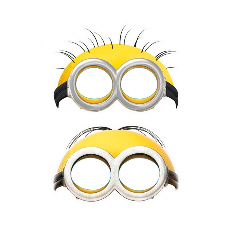 Minions Maskers 6 Stuks