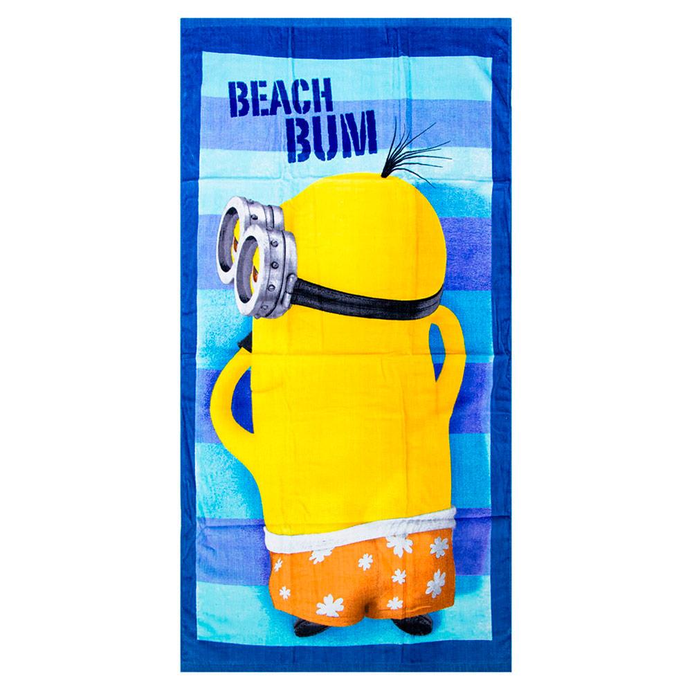 Minions strand en badlaken Beach Bum